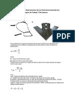 Metodología Para La Determinación De Los Parámetros Geométricos Dimensionales Del Órgano De Trabajo Y Del Soporte.docx