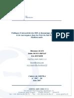 Politique d'attractivité des IDE et dynamique de croissance et de convergence dans les Pays du Sud Est de la Méditerranée