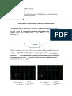 INSTRUMENTACION ELECTRONICA CARACTERIZACION EXPERIMENTAL DE FILTROS DE PRIMER ORDENER