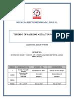 TENDIDO DE CABLE DE MEDIA TENSION 10KV
