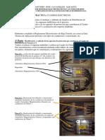 explicacion de la practica de cuadros electricos