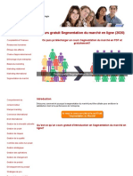 Cours Segmentation Du Marche Marketing Gratuit