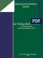 Mohammed Brahim SALHI - La Tariqa Rahmaniya, de l'avenement à l'insurrection de 1871.pdf