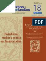Medios, periodismo y política en América Latina