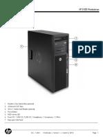 Hp Workstation Z420 Technicke Specifikace