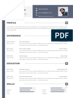 Simple Resume for Designers-WPS Office