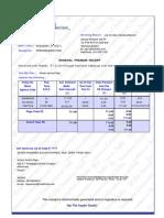 LIC Rs 711 premium receipt 030220