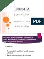 ANEMIA I MINSA 2019
