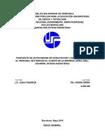 PROGRAMA DE CAPACITACION Y ADIESTRAMIENTO AL PERSONAL DE ATENCION AL CLIENTE DE LA EMPRESA LEÑAS GRILL