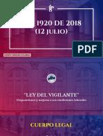 2. Presentación Ley 1920 de 2018