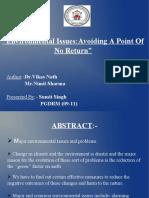 Environmental Issues EEP