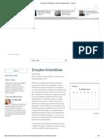 Emoções Aristotélicas _ Ciência & Matemática - O Globo