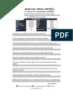 LECCIÓN 26 - MODAL CAN + CONJUNCIONES Y ADVERBIOS (1)