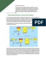 ESPECTROFOTOMETRIA DE ABSORCION ATOMICA