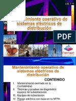2 Mtto operativo de sistemas eléctricos de distribución