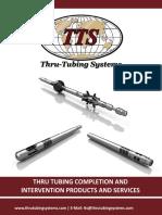 Thru Tubing Electronic Catalog