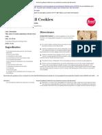 Receta de galletas de fútbol de nuez _ Giada De Laurentiis _ Red alimentaria