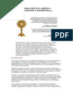 ADORACIÓN EUCARÍSTICA EXPOSICION Y BENDICION DEL SANTISIMO