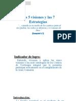 5 Visiones & 7 Estrategias Presentacion CENTI