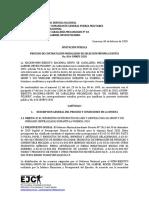 INVITACION PUBLICA SMC PRODUCTOS DE ASEO 016-GMRPI-2020