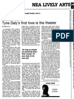 Tyne Daly interview