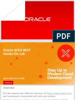 oracle apex rest hands on lab