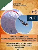 IICSTUR Cuaderno 33 Turismo Alternativo