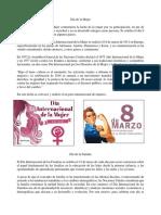 Dia de la Mujer Características de un Lider