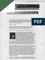 The X-Files - Mythos & Misinformation 10-30-97