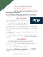 TALLER DE DERECHO ADMINISTRATIVO