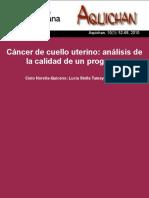 Cáncer de cuello uterino análisis de la calidad de un programa Noreña-Quiceno Tamayo Acevedo Universidad la Sabana.pdf