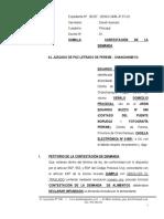 Contestacion de Demanda - Paz Letrado - Alimentos 48 - EDUARDS JOEL PARIONA JUIJAELABORADO POR PERCY CORONADO C. LES INVITO A VISUALIZAR LOS MODELOS DE DEMANDA LABORAL, PAGO DE BENEFICIOS SOCIALES. 954 062131. UBICADO EN EL JIRON AYACUCHO N° 108 - 2DO PISO, DISTRITO DE CHANCHAMAYO, PROVINCIA DE CHANCHAMAYO, REGION JUNIN.