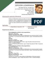 Matias Concepcion Lizarraga CV