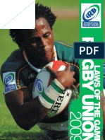 RUGBY- IRB law book