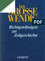 Kosiek Rolf u Rose Olaf Der Grosse Wendig Richtigstellungen Zur Zeitgeschichte Band 1