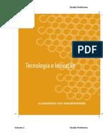 Caderno do Professor Tecnologia e Inovação_Vol 1