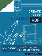 XY-2 PRO Installation Instructions