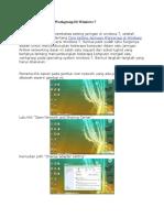 Cara Setting Jaringan Workgroup Di Windows 7