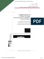 A regulamentação da profissão psicologia_ documentos que explicitam.
