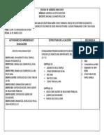 Planificación Capitulo  12 y 13