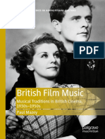 British Film Music Musical Traditions in British Cinema, 1930s–1950s