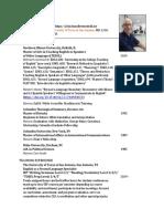 Curriculum Vitae Turnbull 02072020