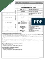 STI2D_TN1_Programmation sur TI-82