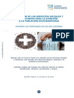 Cohesion Sanidad y Servicios Sociales en la Atencion Sociosanitaria