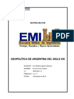 Geopolitica Argentina siglo XXI