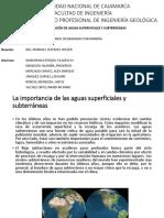 CONTAMINACIÓN DE AGUAS SUPERFICIALES Y SUBTERRÁNEAS (1).pptx