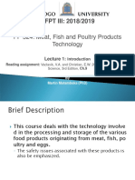 Meat Fish and Poultry Products Technology-lecture 1_