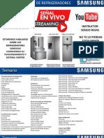 manual  refrigeradores  samsung