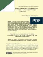 TRADUÇÃO E SISTEMA LITERÁRIO CONTRIBUIÇÕES Germana (Cadernos UFSC - 2015