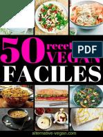 50 recettes vegan faciles